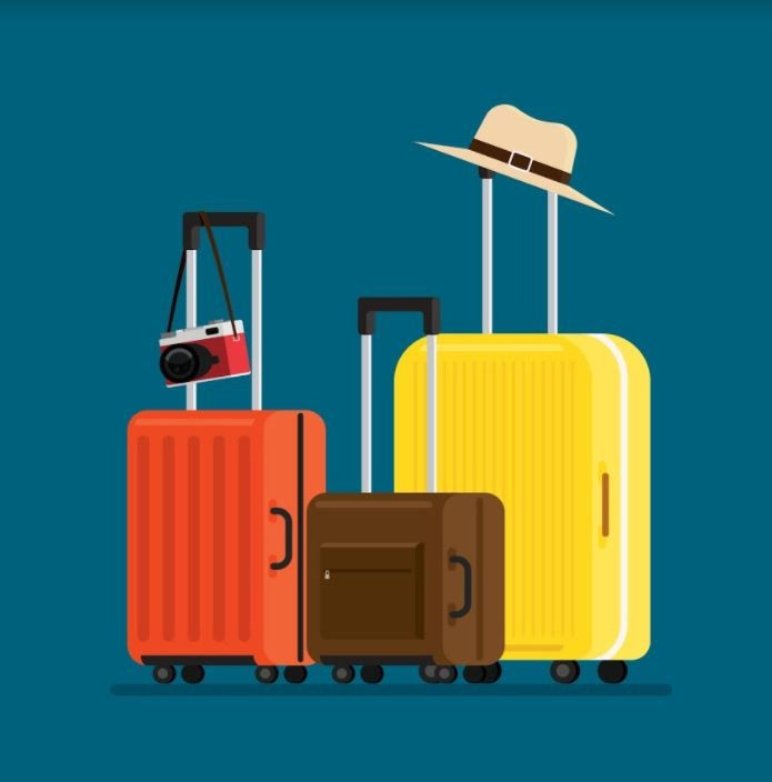 hành lý khi đi du lịch gia đình